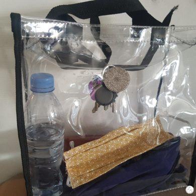 Accroche clés aimanté pour sac